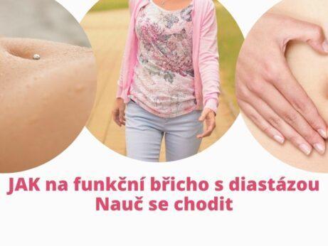 Jak na funkční břicho i s diastázou - nauč se chodit. martinafallerova.cz