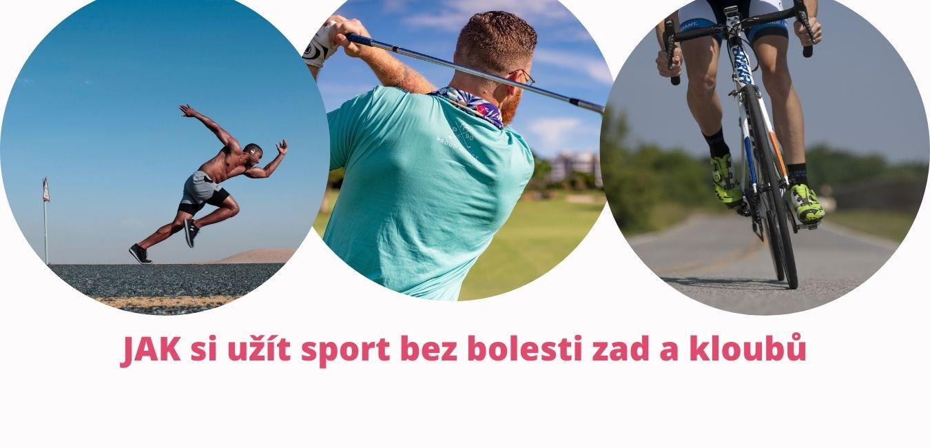 Jak si užít sport bez bolesti zad a kloubů - martinafallerova.cz