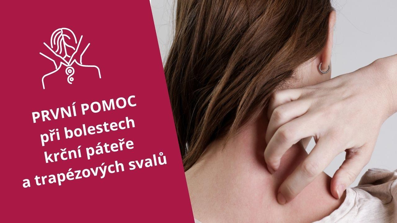 První pomoc při bolestech krční páteře atrapézových svalů - martinafallerova.cz